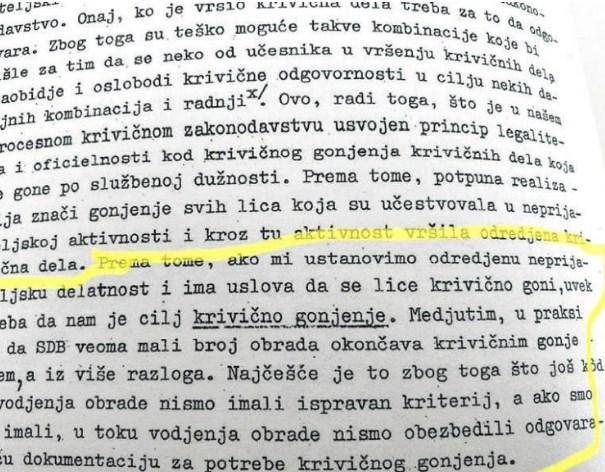 Што откриваат  документите на УДБА: Taјната служба имала посебен  метод за мачење за оние што не сакале да соработуваат