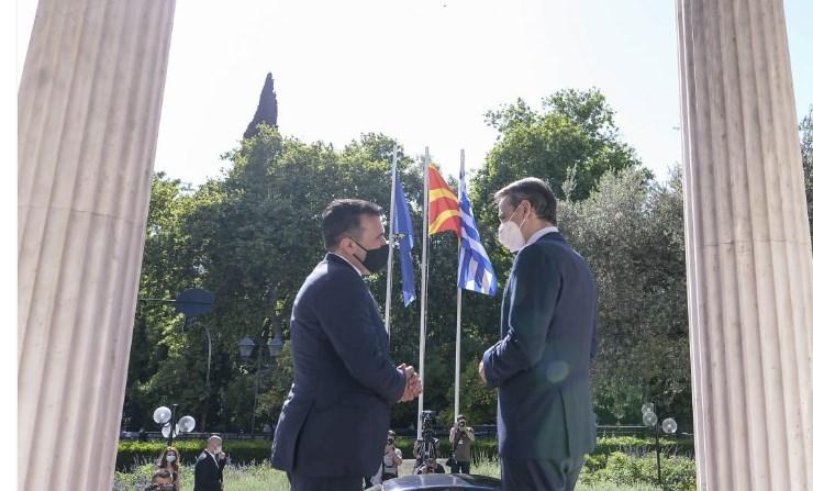 """Дали Заев го прашал Мицотакис за укинувањето на македонското друштво """"Мисирков"""" во Грција?"""