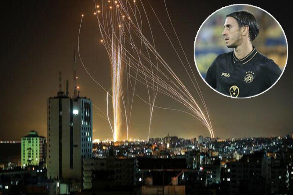 Фудбалерот Пешиќ го сними нападот над Тел Авив, вели гајле му е за договорот и се враќа дома во моментот кога ќе почувствува несигурност