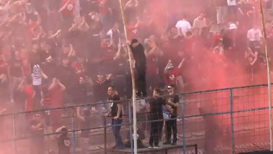 """ФФМ ќе покрене дисциплинска постапка против Шкендија за упадот на """"Балистите"""" на стадион"""