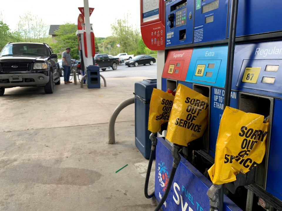 При крај се залихите на бензин во Вашингтон