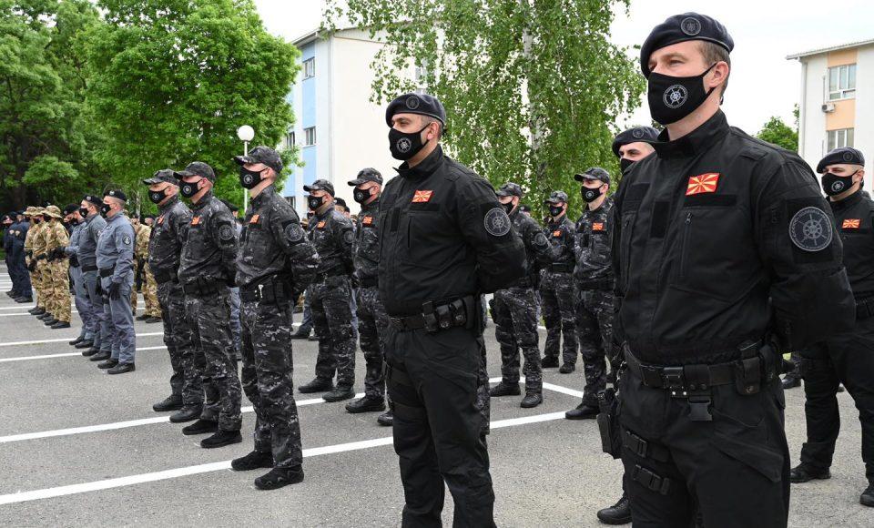 Нов имиџ на Единиците за брзо распоредување, обука и поддшка и Интервентната полиција