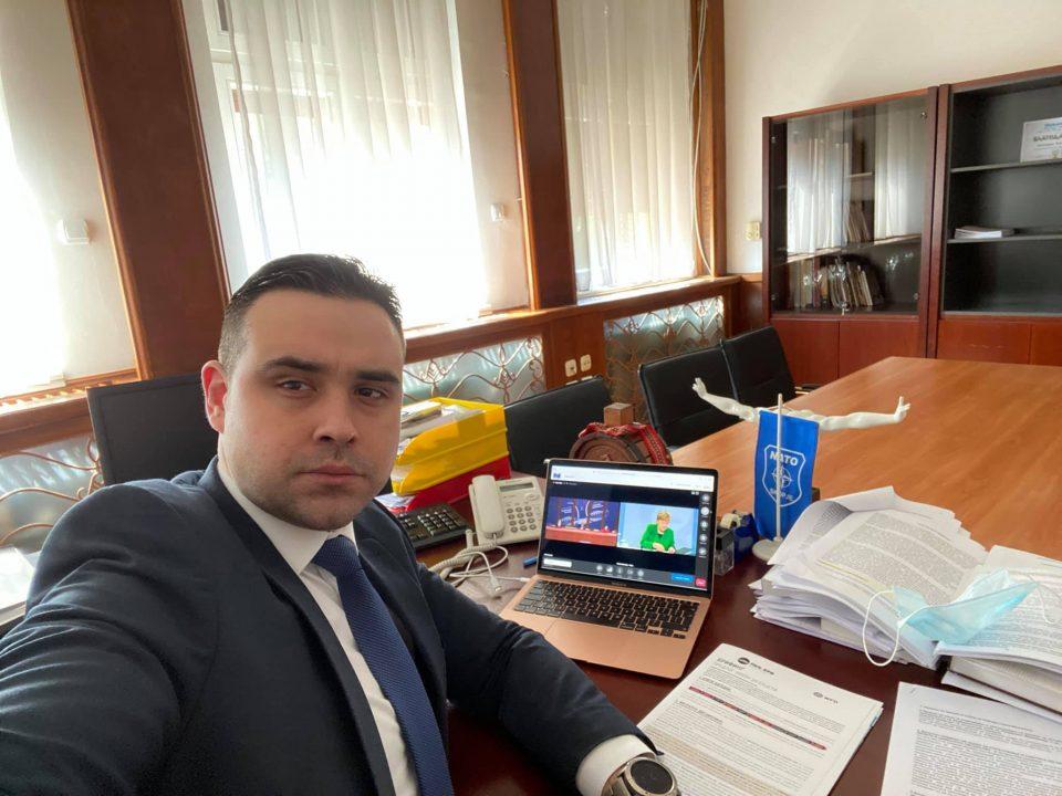 Костадинов во ИO на СДСМ: Огромно благодарам на мојот учител и пример за политичар Зоран Заев