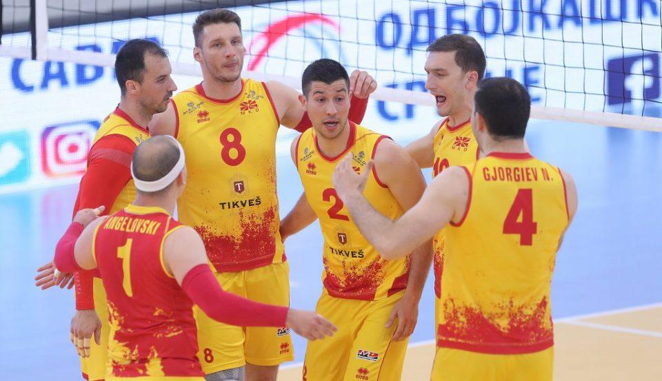 Македонските одбојкари со максимални три победи се враќаат од Данска