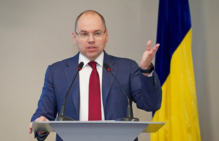 Сменет украинскиот министер за здравство поради неуспешна вакцинација против Ковид-19