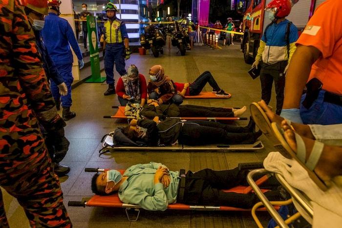 Најмалку 160 повредени во железничка несреќа во Малезија