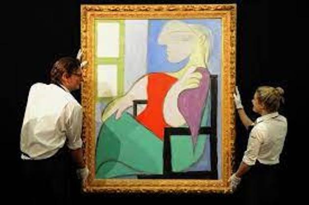 """""""Жената што седи покрај прозорецот"""" на Пикасо продадена за повеќе од 103 милиони долари"""