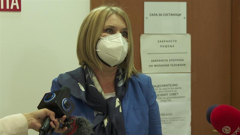 Антикорупциска чека од Павлина Црвенковска да го пријави матичниот број на нејзиниот сопруг
