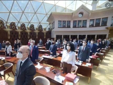 """Интензивната и обемна обука со германската фондација """"Конрад Аденауер"""" ќе ја преточиме во Собранието, велат од пратеничката група на ВМРО-ДПМНЕ"""