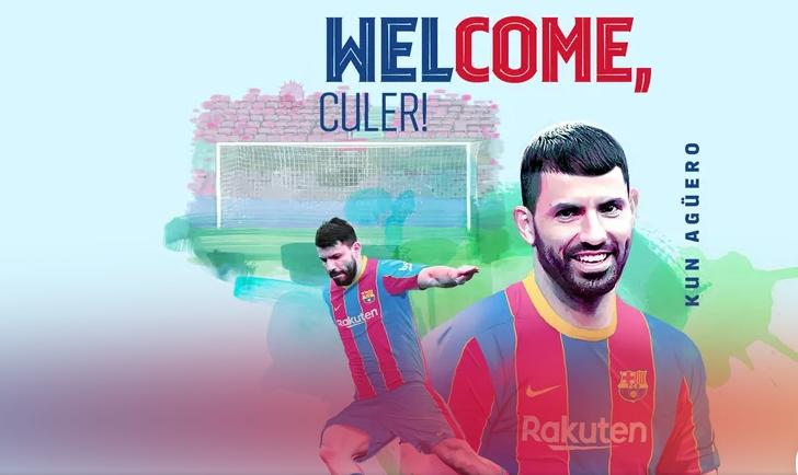 Агуеро прво официјално засилување за Барселона за идната сезона