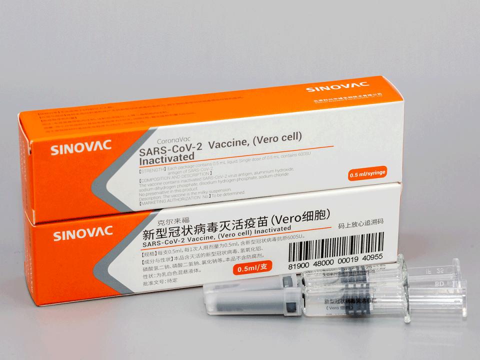 """СЗО: Недостасуваат квалитетни податоци за ризикот од вакцината """"Синовак"""""""