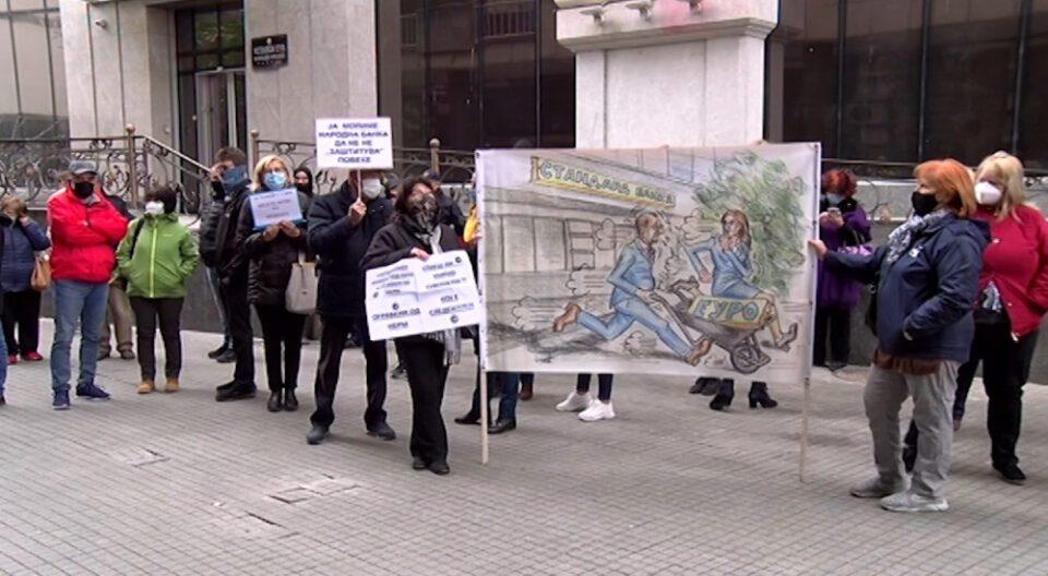 Оштетените штедачи утре на собир пред Уставен суд