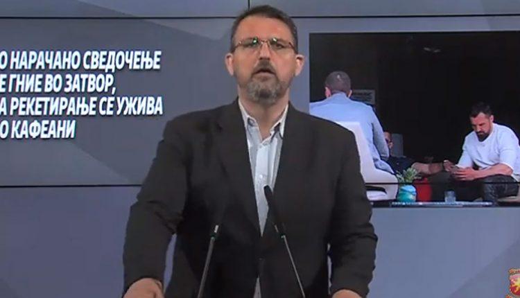 Стоилковски: Кичеец наместо во затвор се гоштева по летните тераси на меаните