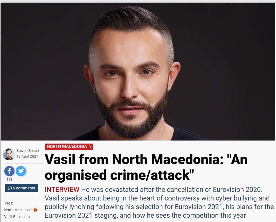 Гарванлиев за евровизискиот портал: Тоа беше организиран криминал против мене поради лажни вести