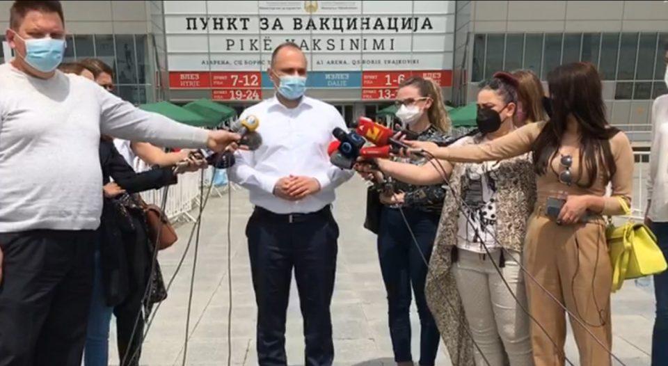 ВО ЖИВО: Изјава на Филипче по вакцинирањето