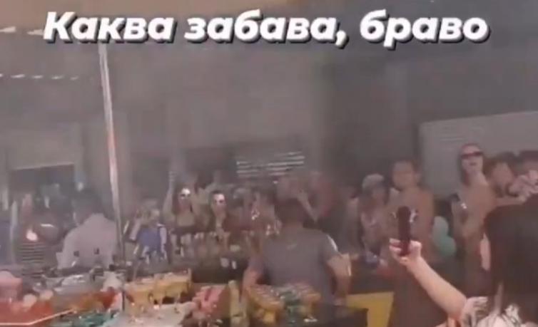 Во Турција растурена забава на познати македонски фаци
