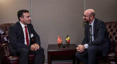 Претседателот на Европскиот Совет по средбата со Заев не сакаше да одреди датум за преговори меѓу Македонија и ЕУ