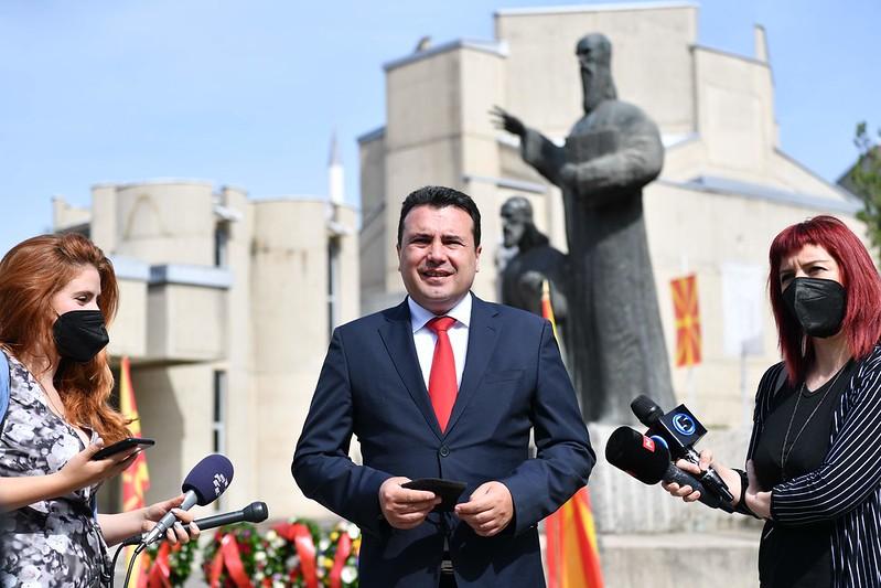 """Заев: Отворањето на универзитетот """"Св. Св Кирил и Методиј"""" од Велико Трново е поткрепа на пријателството,на добрососедството"""