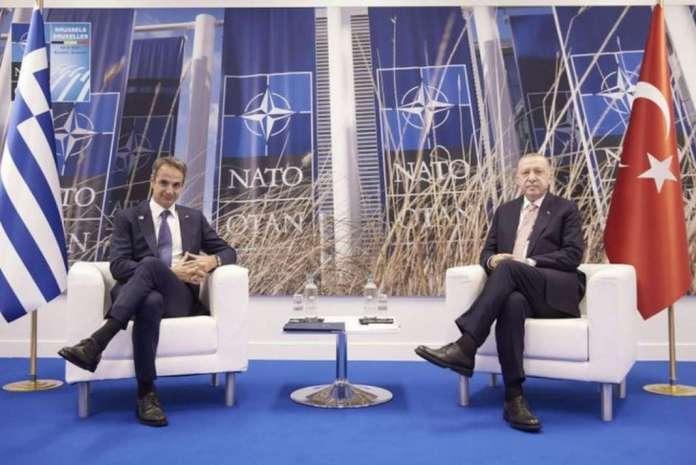 Ердоган и Мицотакис се согласија да продолжат со дијалогот