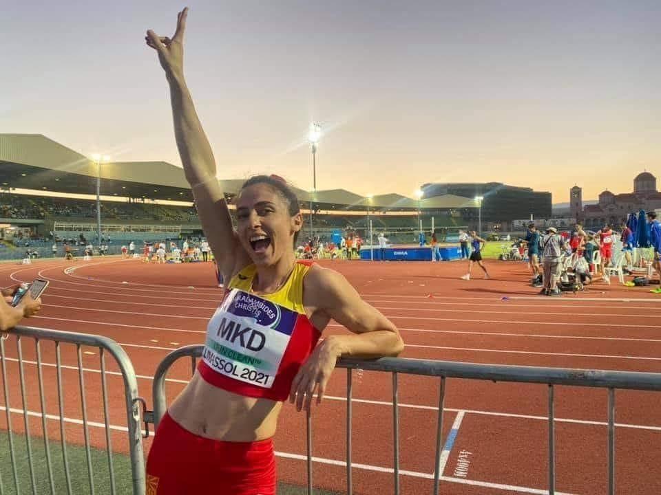 Нов државен рекорд за Дрита Ислами на 400 метри со пречки