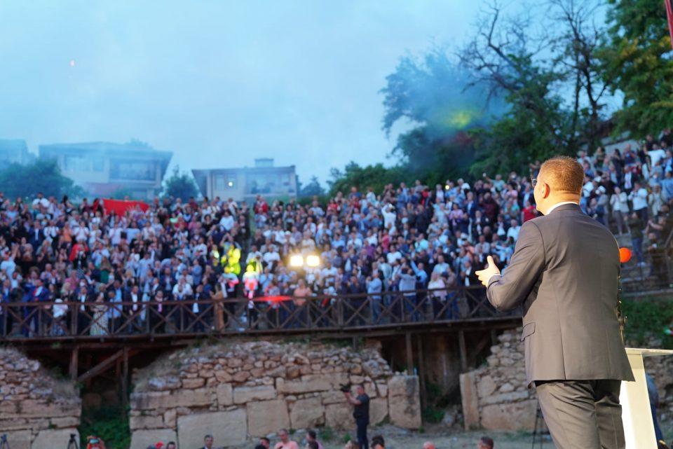 Мицкоски: Ќе се избориме обединети, силно и одлучно