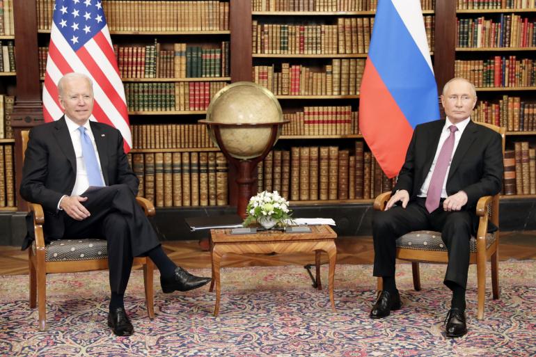 Заврши првата рунда разговори Бајден-Путин