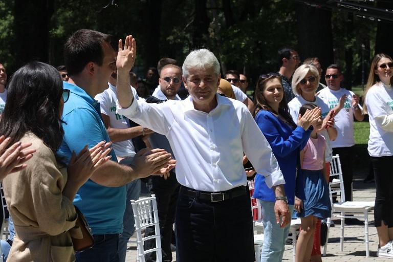Николоски: ДУИ се враќа на корените, во 2001 година почнаа како зелена партија од планините и горите на Македонија