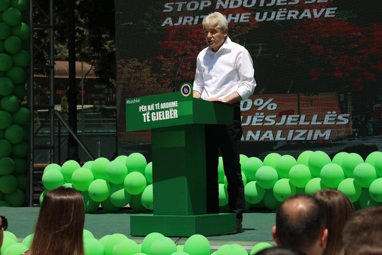 Ахмети: Зелената агенда станува дел од ДУИ, тоа значи квалитетен живот, работни места и развој