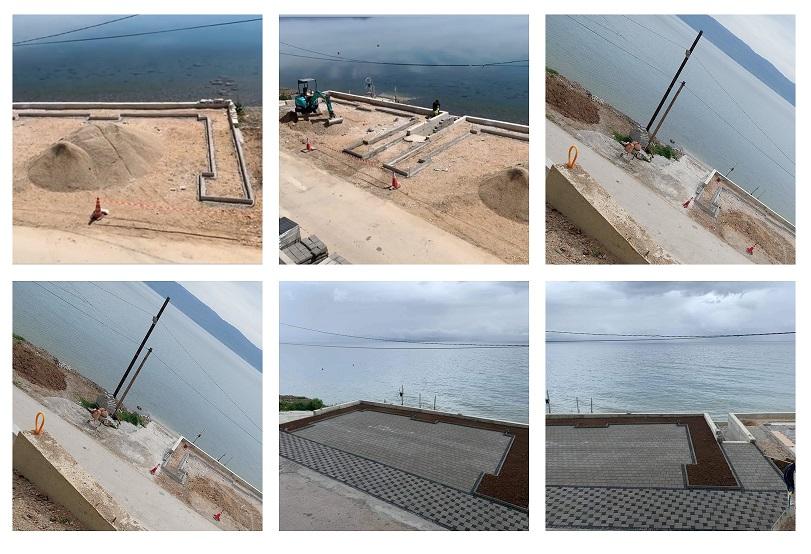 Охрид СОС: Се бетонира брегот во Струга, инспекциските служби не реагираат