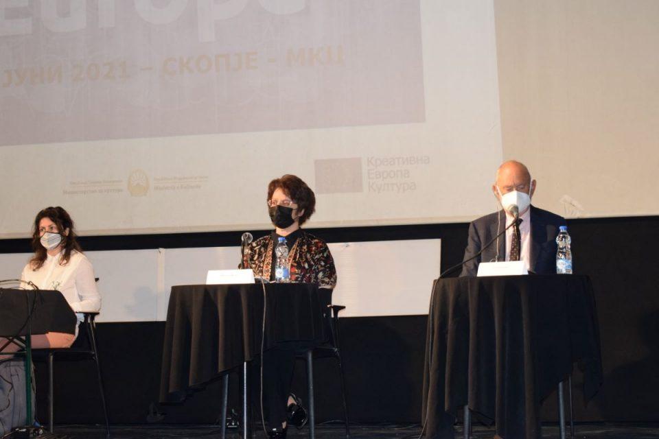 Министерката Стефоска и амбасадорот на ЕУ, Гир ја најавија новата програма Креативна Европа 2021 – 2027 година