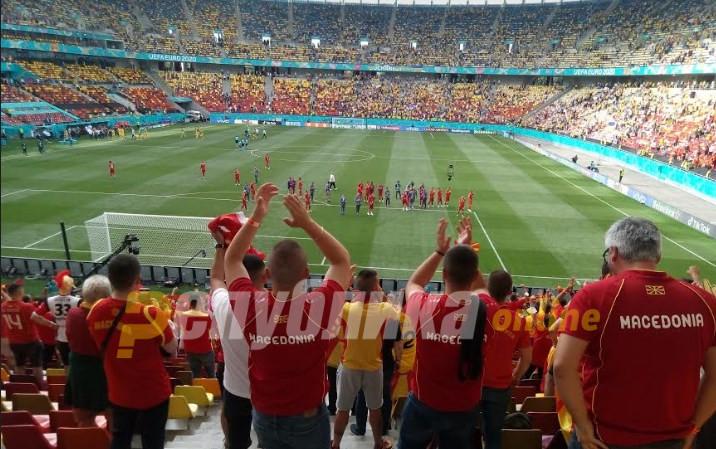 Македонската репрезентација денеска против Холандија на ЕУРО 2020