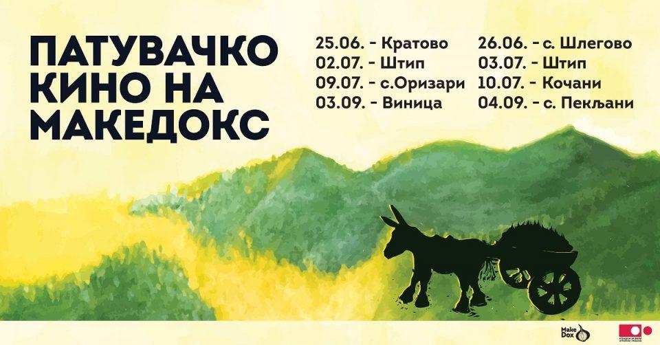 """Патувачкото кино на """"МакеДокс"""" тргнува од Кратово"""