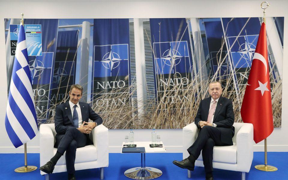 Мицотакис и Ердоган се согласиле да не се повторат тензиите од 2020 година