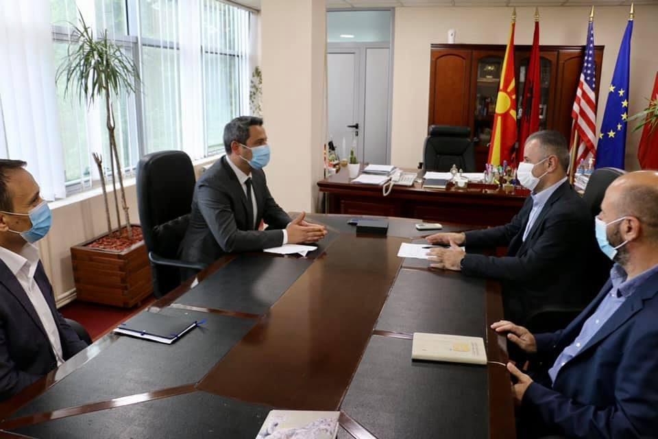 Министерот за животна средина и просторно планирање, Насер Нуредини во посета на Општина Чаир