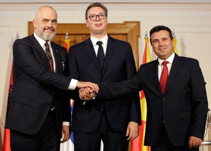 """Вучиќ, Заев и Рама ќе разговараат за """"Мал Шенген"""""""