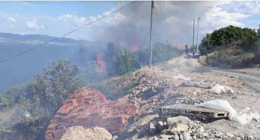 Пожар во Нов Дојран