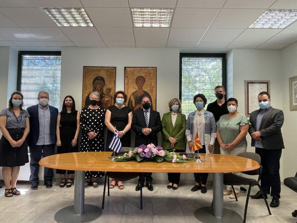Меморандум за соработка меѓу Министерството за култура и Европскиот центар за византиски и поствизантиски споменици