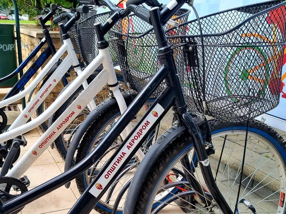 ЕУ го поддржува активниот велосипедизам во Општина Аеродром