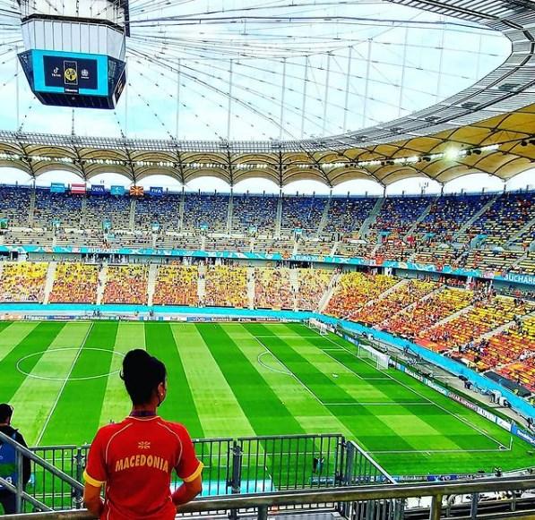 И стадионот во македонски бои! Одбројуваме до почетокот на мечот Австрија-Македонија