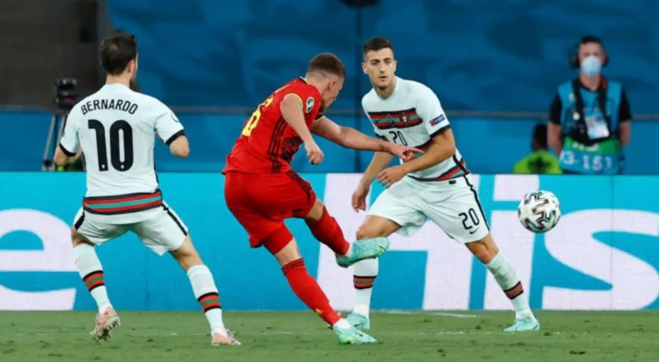 Белгија води против Португалија – видео од голот на Азар