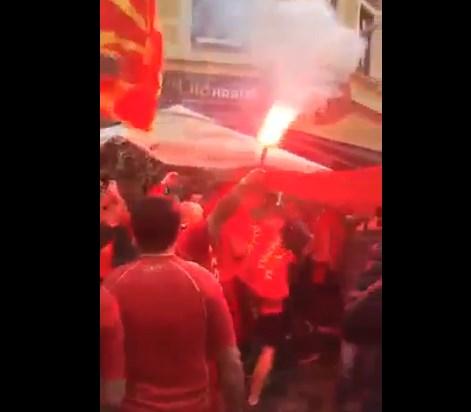 """""""Бисер балкански"""" во Букурешт, црвено-жолти се улиците пред стартот"""