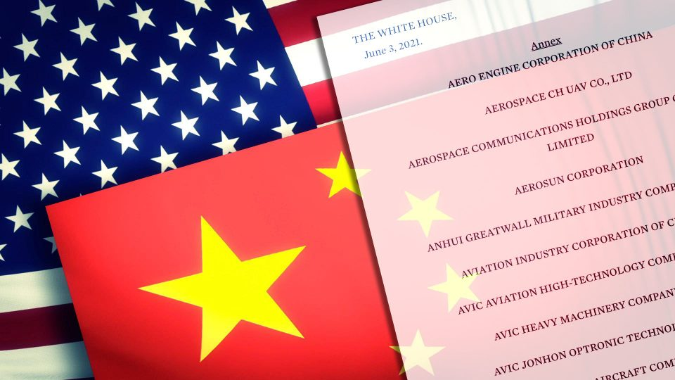 Уште пет кинески компании на американската црна листа