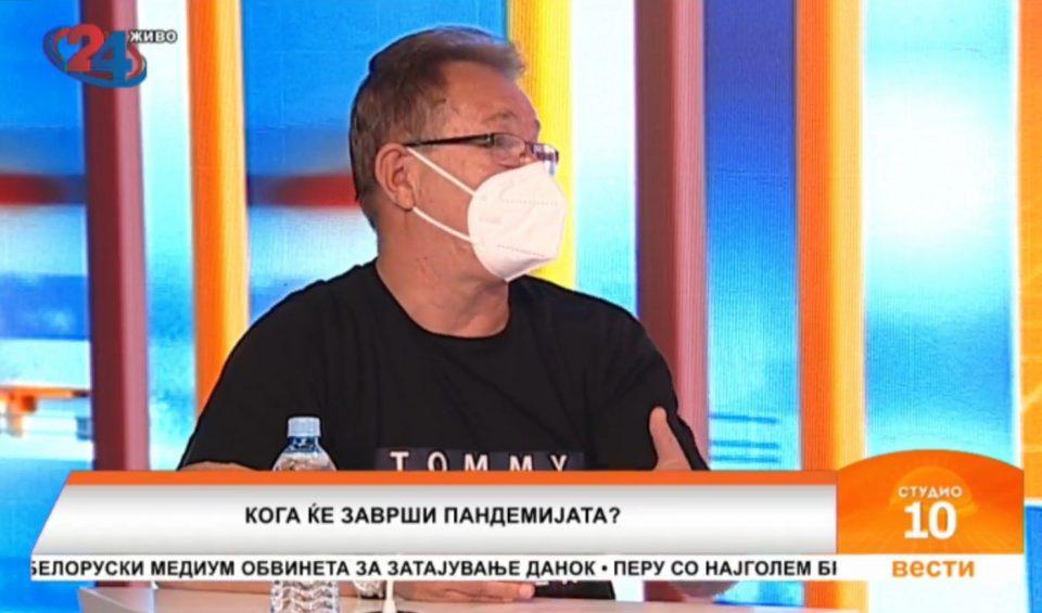 Д-р Беќаровски: Оптимист сум дека може годинава да се оди на одмор зошто топлото време влијаеше врз британскиот сој
