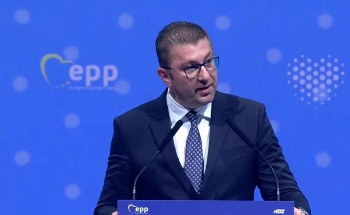 Мицкоски: Во Брисел барав од пријателите да застанат зад Македонија и конечно да ги почнеме преговорите со ЕУ