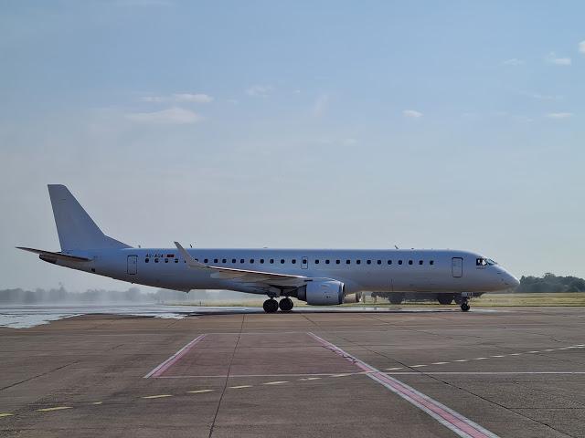 Првиот авион на новата црногорска авиокомпанија Ер Монтенегро слета на белградскиот аеродром