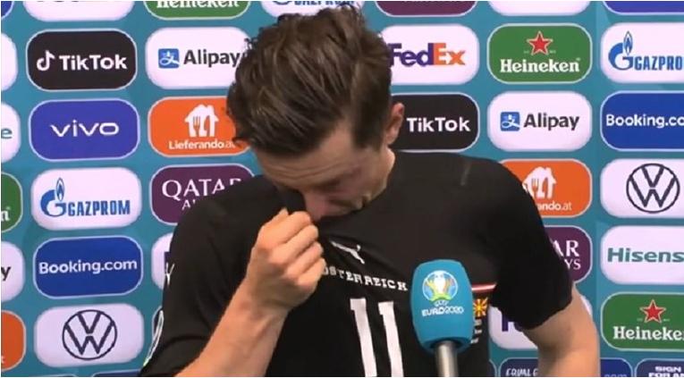 Грегорич се расплака по победата на Австрија, а кажа и зошто