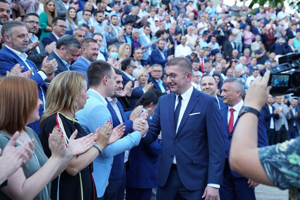 """Мицкоски: """"Талир"""" се води на насилен пат, за сметката и имотот на ВМРО-ДПМНЕ да бидат блокирани и Заев да има некаква предност на избори, зошто друга нема"""