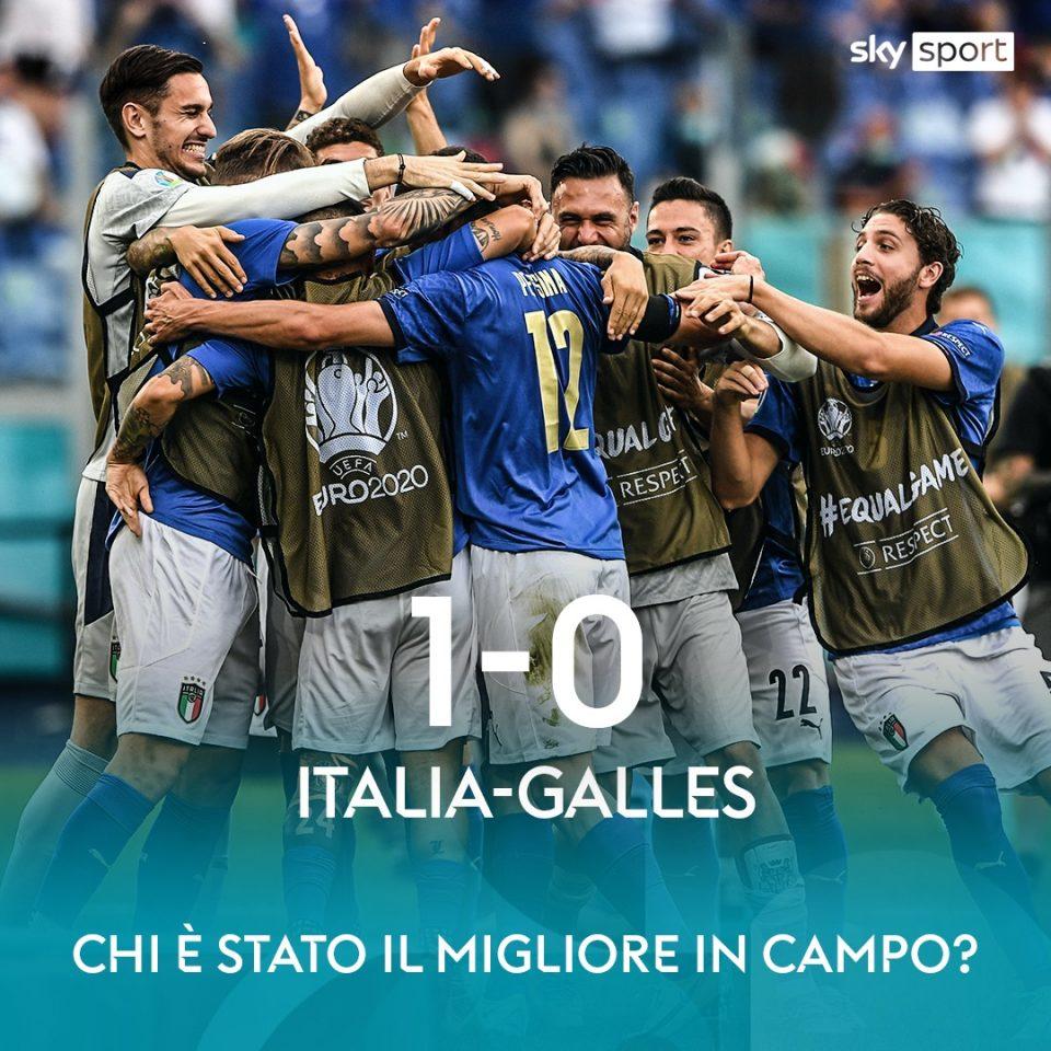 Италијанците го слават пласманот во осминафинале со песна од 1990 година