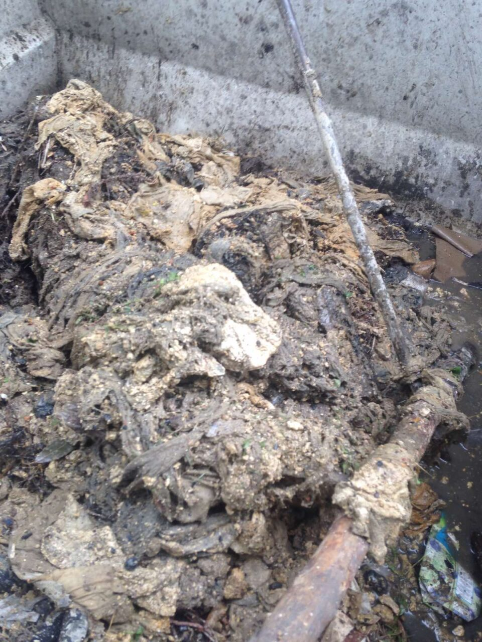 """Поради даски, шипки, влажни марамчиња и друг неразградлив отпад затната канализацијата на """"Никола Русински"""""""