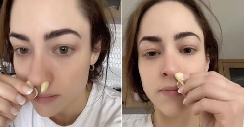 Не си пикајте чешниња лук во носот, предупредуваат докторите